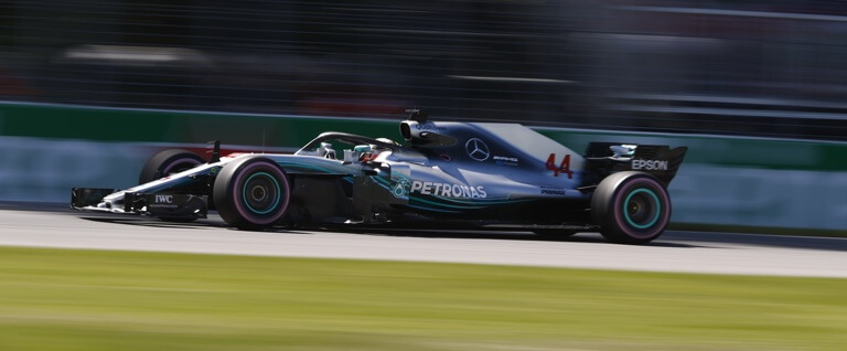 Mercedes-AMG PETRONAS Motorsport, déjà en tête !