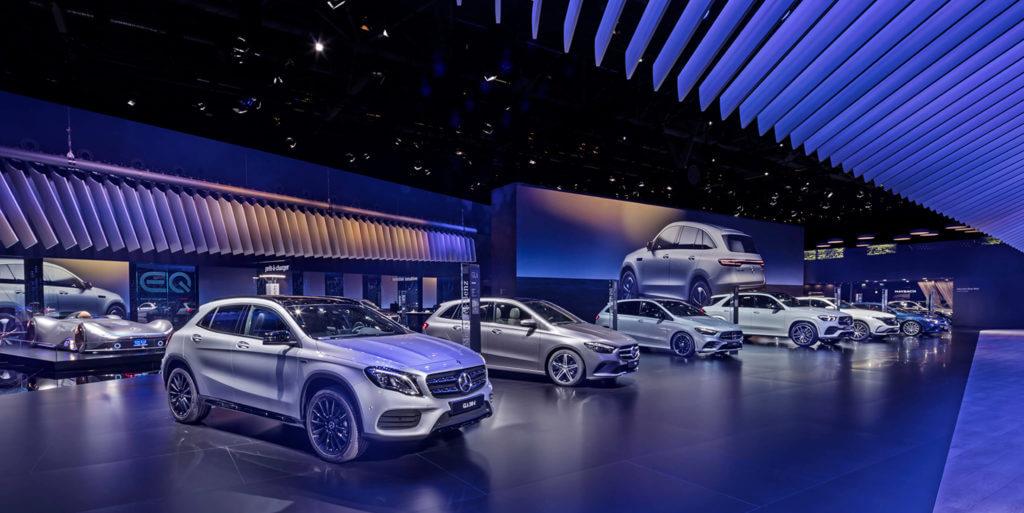 Mercedes-Benz au Mondial de Paris