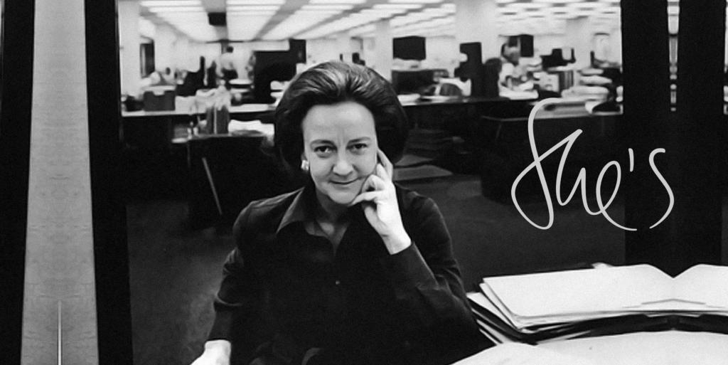 She's a legend – Katharine Graham