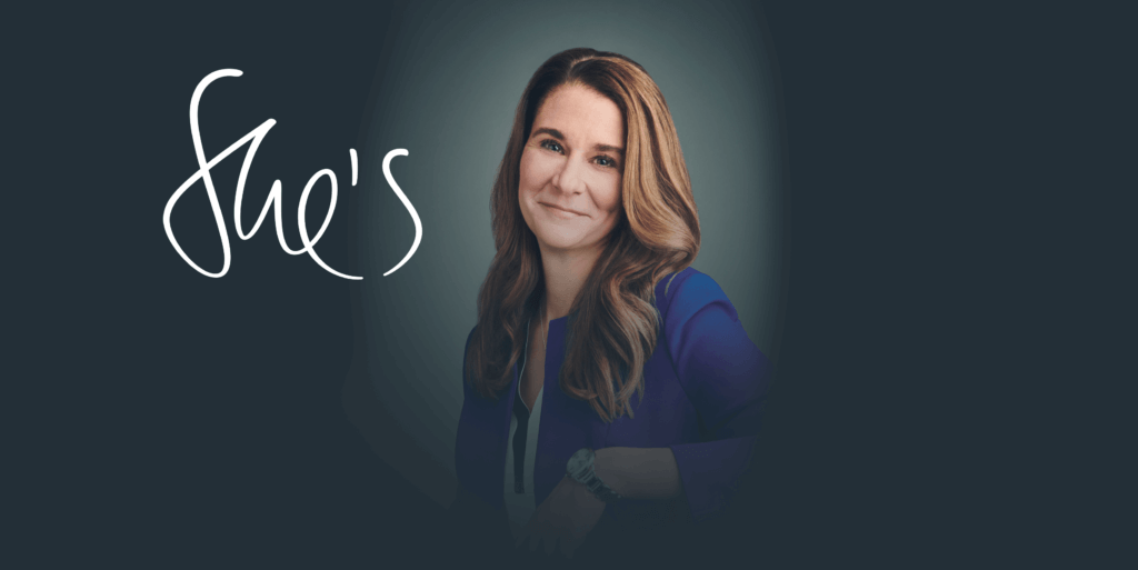 She's a mentor : Melinda Gates