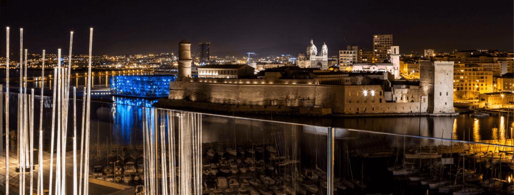 Hotspots : Marseille vue du ciel