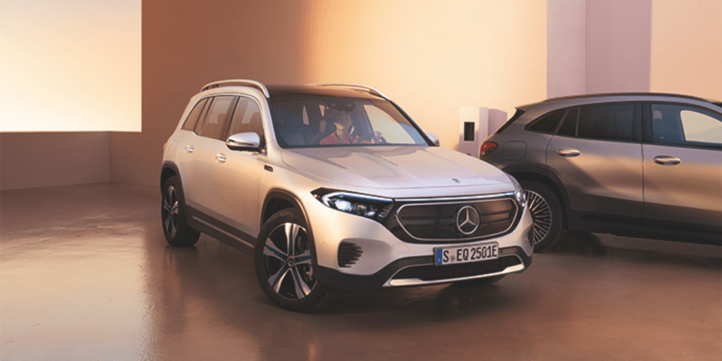 Nouvel EQB, le SUV 100% électrique familial à 7 places